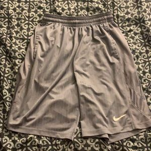 Nike grey athletic shorts